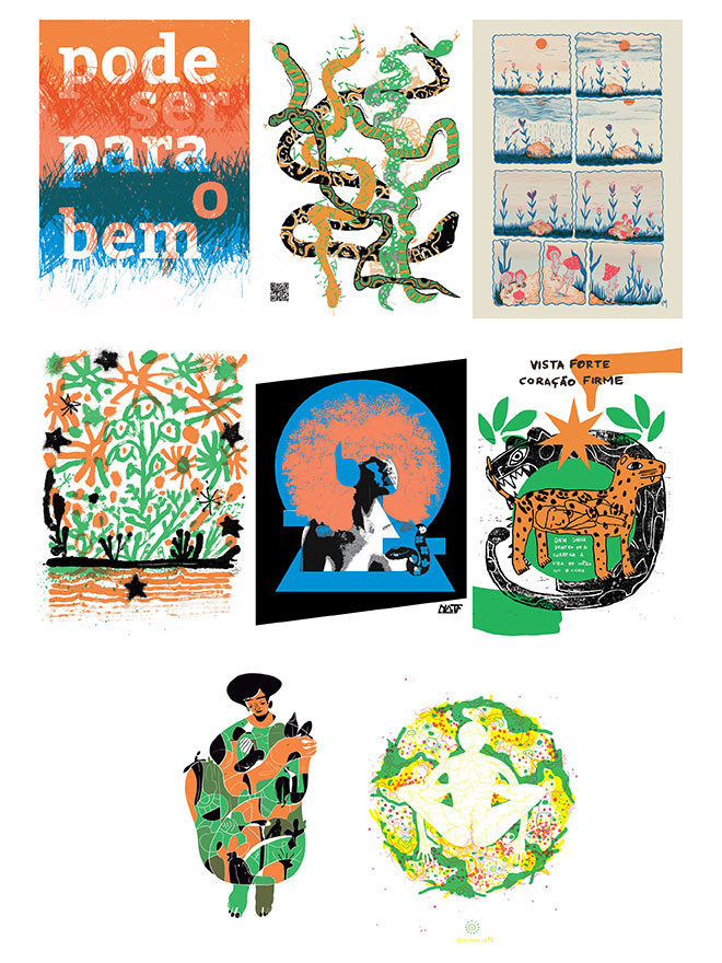 Faísca Lab Collection of posters
