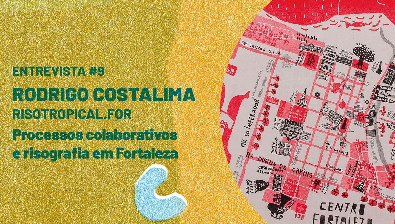 Processos colaborativos e risografia em Fortaleza
