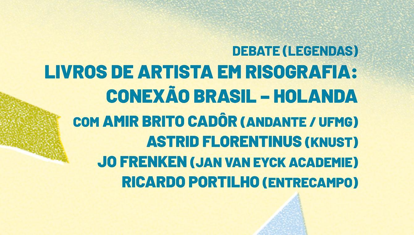 Livros de artista em risografia: conexão Brasil-Holanda