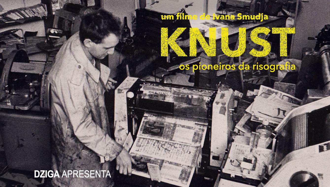 Knust – os pioneiros da risografia (Países Baixos, 2019)
