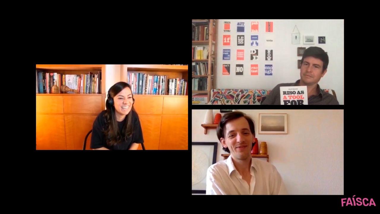 Luca Bendandi (Vetro Editions) & John Komurki