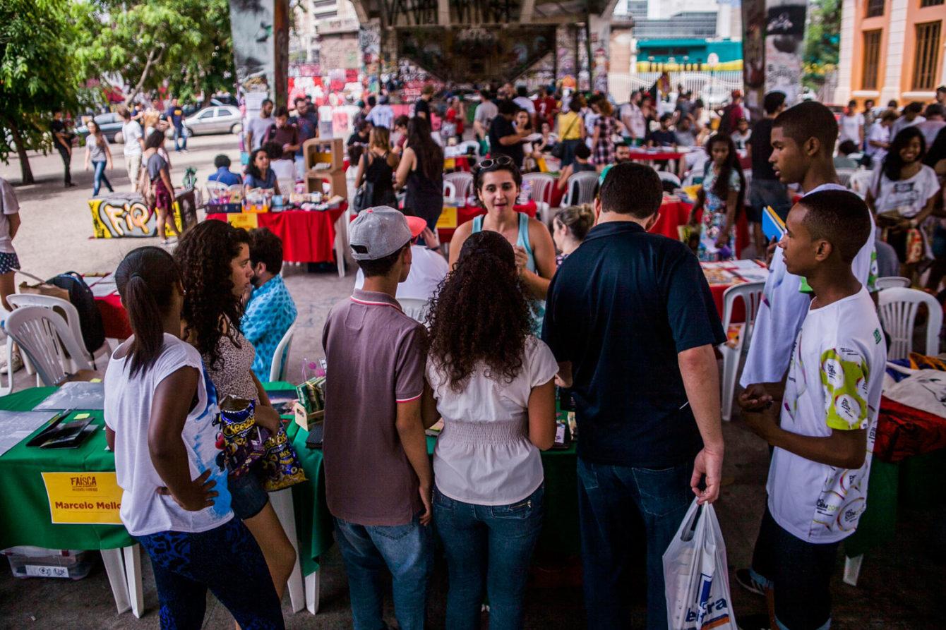 Faísca no FIQ, 2015. Foto: Luiz Carlos Oliveira. Local: Baixio do Viaduto Santa Tereza, BH.
