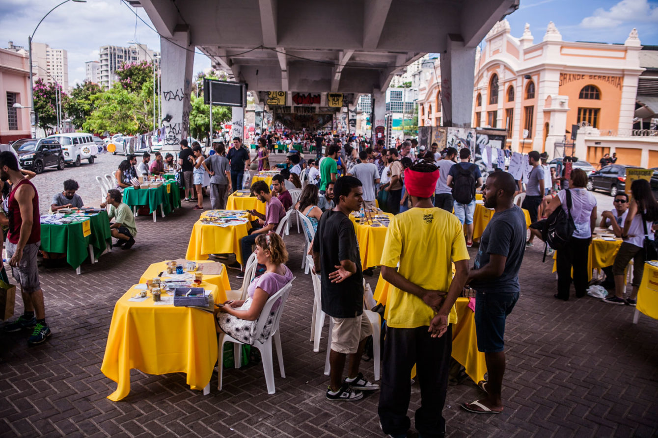 Faísca no FIQ 2015. Foto: Luiz Carlos Oliveira. Local: Baixio do Viaduto Santa Tereza, BH.