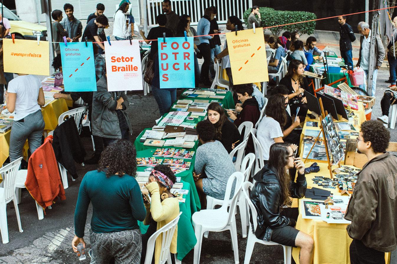 Estreia da terceira temporada. Local: BDMG Cultural/BH. Foto por Daniel Iglesias / Área de Serviço.