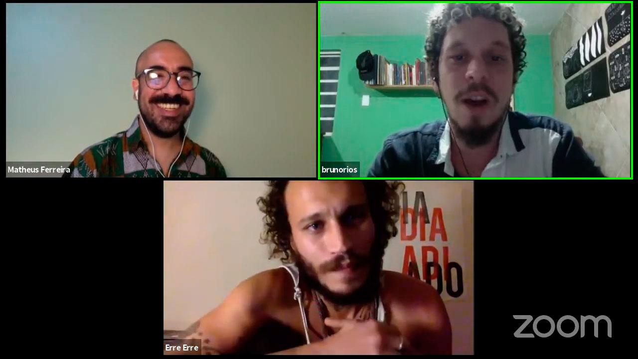 Bruno Rios, erre erre, Matheus Ferreira